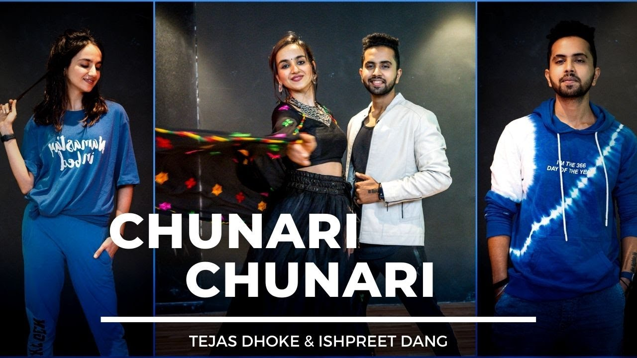 CHUNARI CHUNARI | Tejas Dhoke & Ishpreet Dang | Dancefit Live