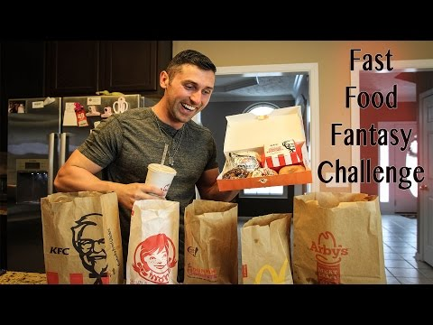 Fast Food Fantasy Challenge - 8,000 Calorie Cheat Day