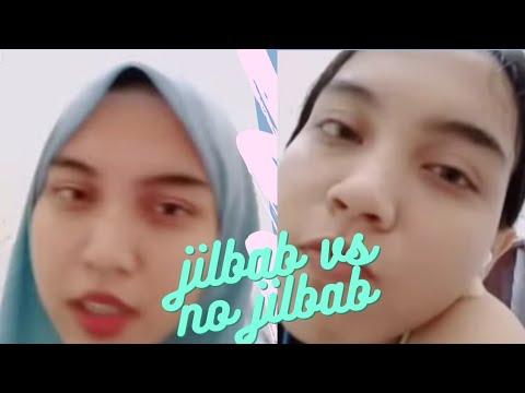 tetap CANTIK  walau lepas jilbab
