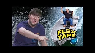 Waterproofing My Life With FLEX TAPE - JonTron (rus vo)