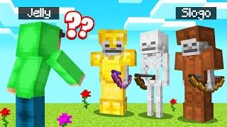 WHICH SKELETON Is The REAL SLOGO?! (Minecraft Guess Who)