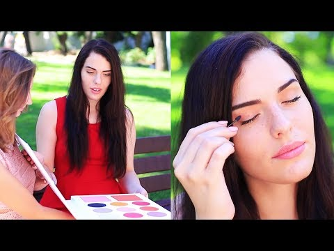 9 DIY SELTSAME MAKE-UP IDEEN / MINIATUR UND XXL MAKE-UP