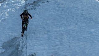 Mountain Biking on a Glacier - Mind the Gap Episode 3