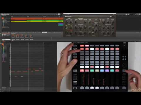 Maschine Jam FastTrack 101: Jam Essentials - 4. Piano Roll Sequencing  Inst Control