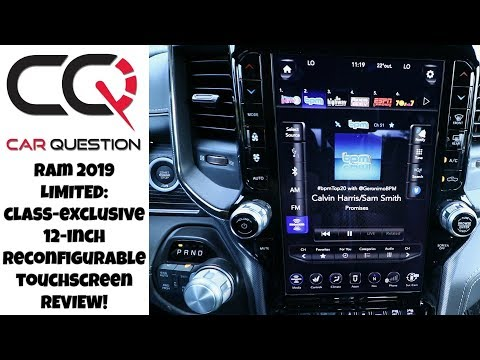 2019 Ram 12-inch screen Uconnect Review: COOL but LAGS sometimes! | Review part 6/6