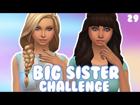 The Sims 4 | Big Sister Challenge | Part 29 | Street Gallery!
