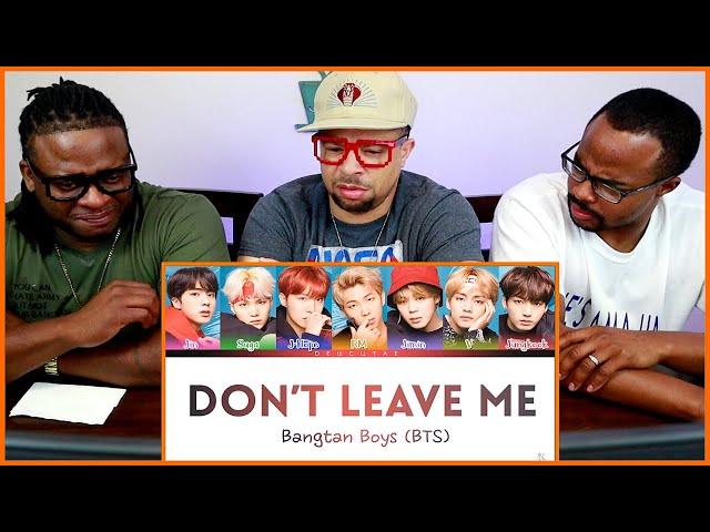 An Uncut Gem! | BTS 'Don't Leave Me' REACTION (Song and Lyrics Review)