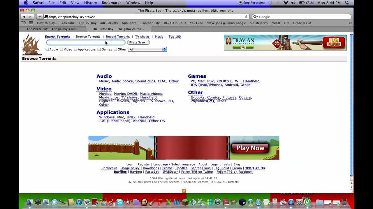 torrents for mac free download