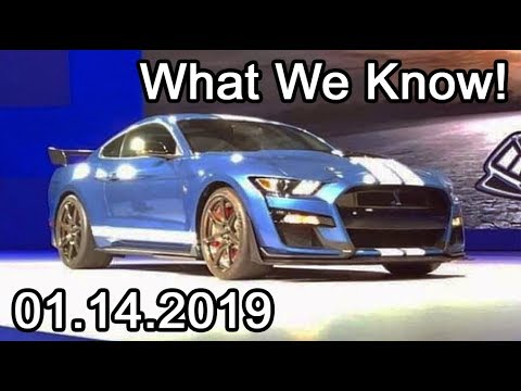 EVERYTHING WE KNOW About The 2020 Shelby GT500!