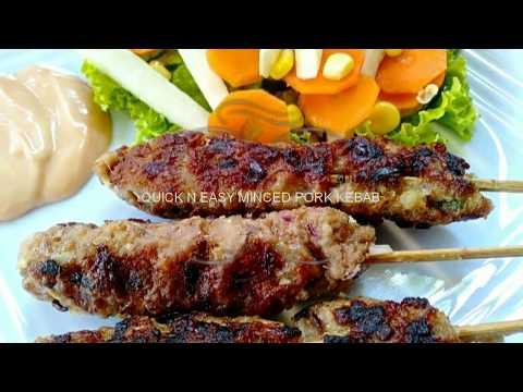 Quick N Easy Minced Pork Kebab