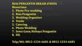 Video Rias Pengantin Bekasi-0812-1234-6681-Album Pengantin Solo Putri-Ratih & Eko Kebaya Putih