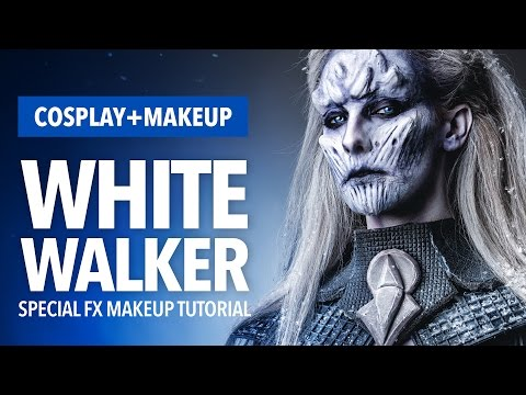 White Walker Special FX Makeup + Cosplay Tutorial