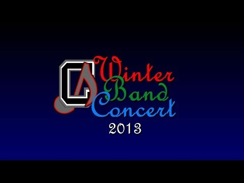 Chickahominy Middle School Winter Band Concert 2013 - Preview