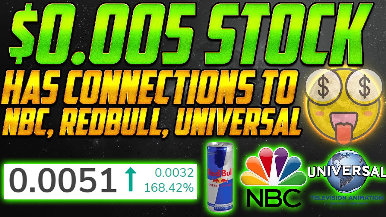 This $0.0051 Penny Stock has Connections to Redbull, NBC, Lakers 😱 Penny Stock to buy!
