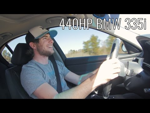 BMW 335i Review - 440HP of N54 Boost!