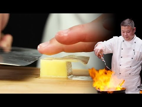 Amazing Knife Skills - Mapo Tofu l Chinese Cooking by Masterchef