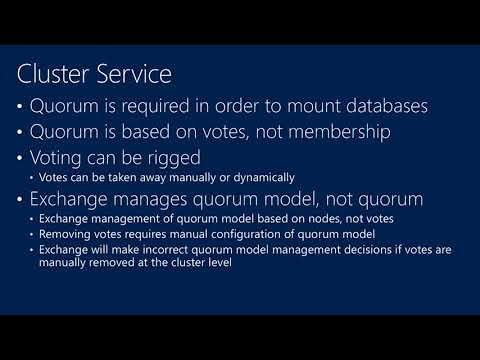TechEd New Zealand 2013 Microsoft Exchange Server 2013 High Availability and Site Resilience
