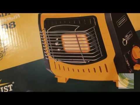 газовый инфракрасный обогреватель Прометей - YouTube