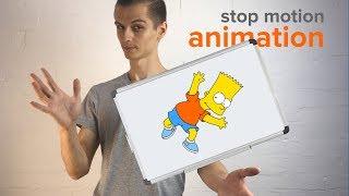 Фото Как снять мультфильм на телефон в стиле STOPMOT ON покадровая анимация