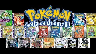 All Pokemon Games EVER Made!