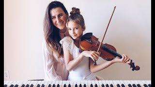 Someone You Loved - Piano and Violin Cover - Karolina Protsenko with Mom