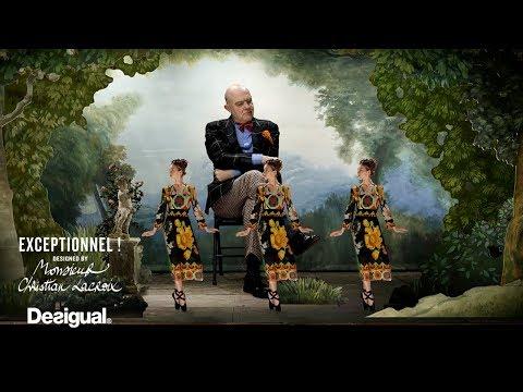 Desigual | Exceptionnel! designed by Mr. Christian Lacroix – Second Capsule