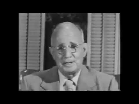 Napoleon Hill - First Visit - Definiteness Of Purpose