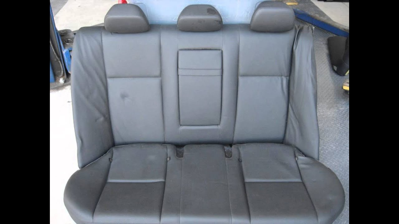 2009 Mercedes C300 Rear Seat (2nd Row) BLK BENCH/BACK 2 PIECE NIA C . Full resolution  snapshot, nominally Width 1280 Height 960 pixels, snapshot with #2F619C.