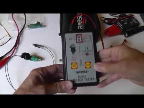 AllSun EM276 Fuel Injector Tester (with injector current ramps)