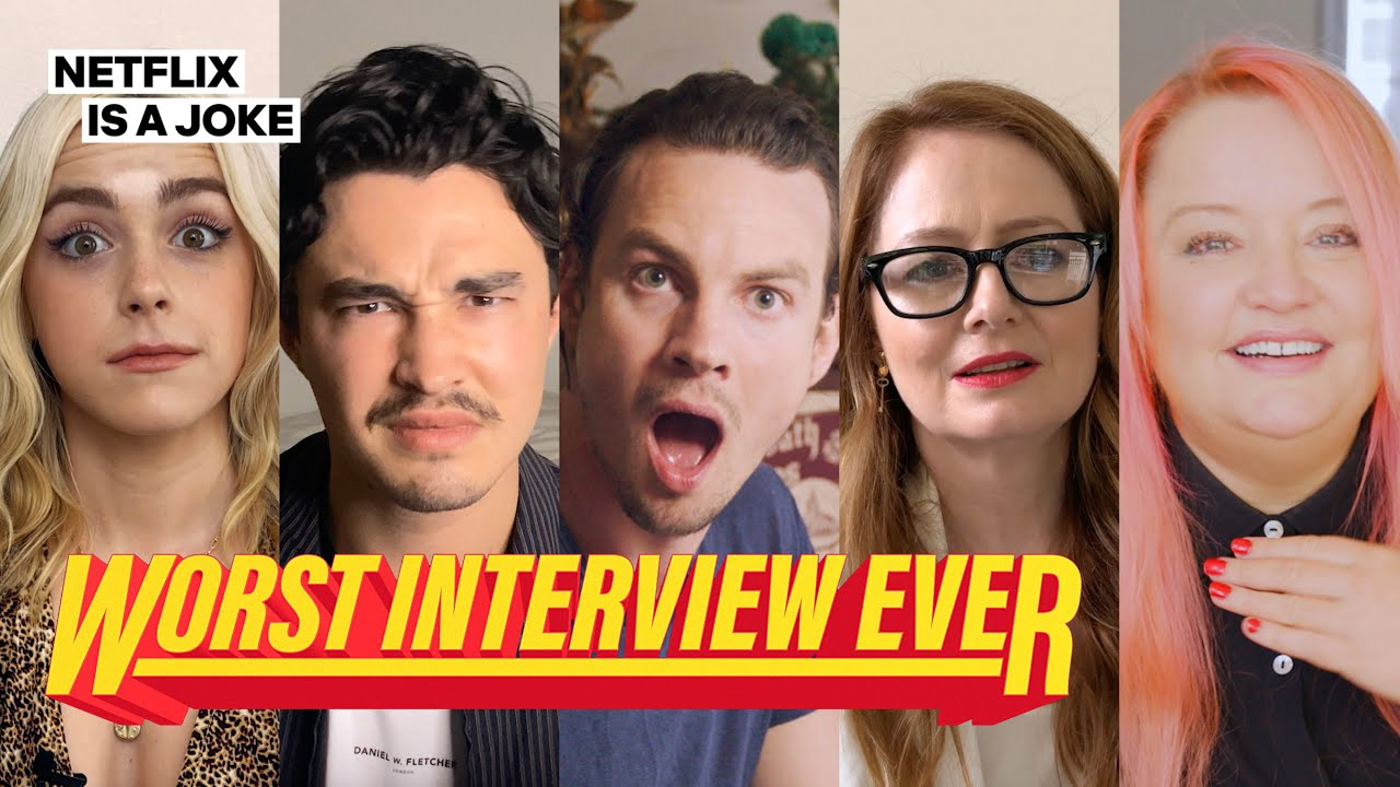 Chilling Adventures of Sabrina Cast Prank Each Other | Worst Interview Ever