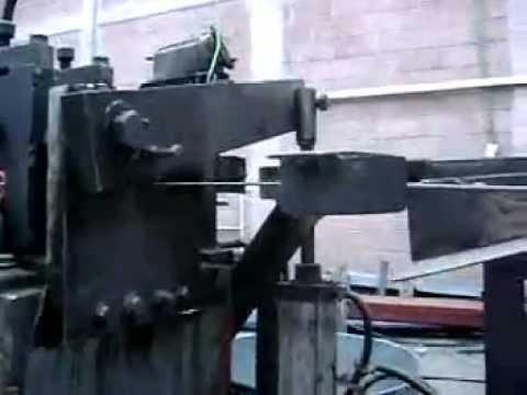 Enderezadora cortadora de alambre pulido youtube for Oficina ing zaragoza