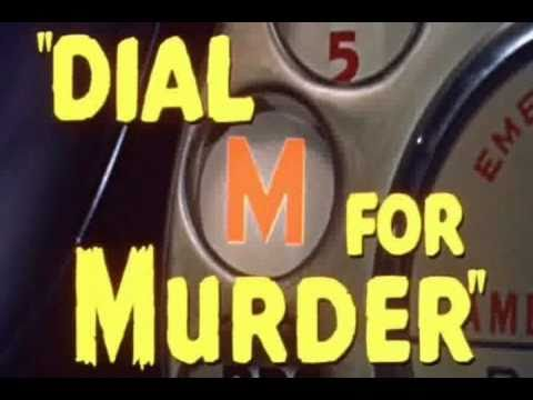 Movie Trailer - Dial M For Murder (1954)