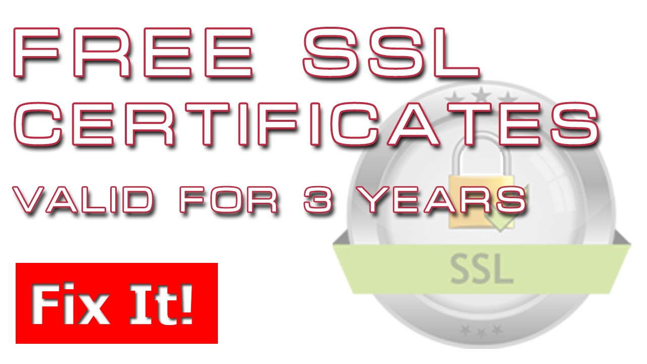 Free ssl certificates get a free ssl certificate from wosign 3 free ssl certificates get a free ssl certificate from wosign 3 years 1betcityfo Images