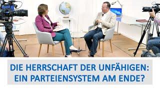 Die Herrschaft der Unfähigen Ein Parteiensystem am Ende? Dr Markus Krall trifft Beatrix von Storch