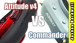 Aomway Commander vs Fatshark Attitude V4 vs. Dominator v3