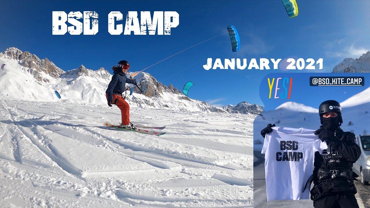 BSD snowkite camp January 2021