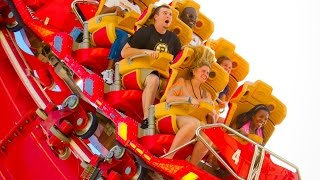 360 Degree View - Hollywood Rip Ride Rockit at Universal Studios Florida (2017) [4K]