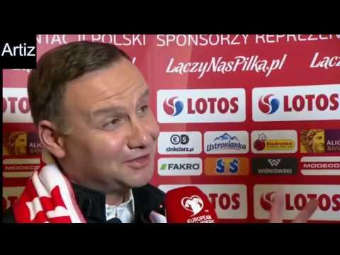 Andrzej Duda & Robert Lewandowski  █▬█ █ ▀█▀