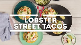 How To Make Lobster Street Tacos with Avocado & Lime Crema   Maine Lobster Now Signature Recipe