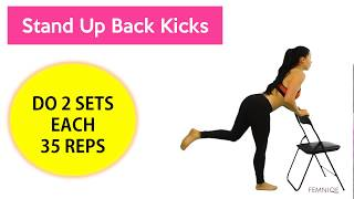 4 Brutal Butt and Thigh Workouts For Lower Body Sculpting!
