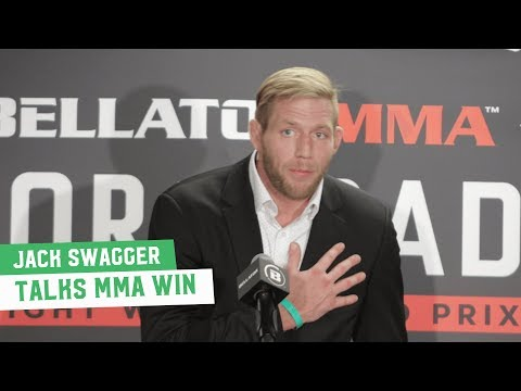 Jake Hager (Jack Swagger) Reacts to MMA Debut Victory
