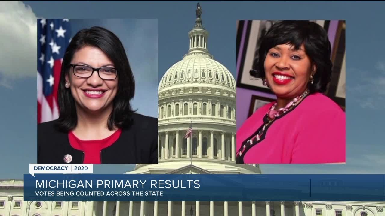 Video thumbnail for: Michigan Primary Election: Race results