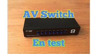 8 channels av switch aliexpress (NL)