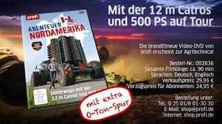 Abenteuer Nordamerika: Mit der 12 m Catros und 500 PS auf Tour