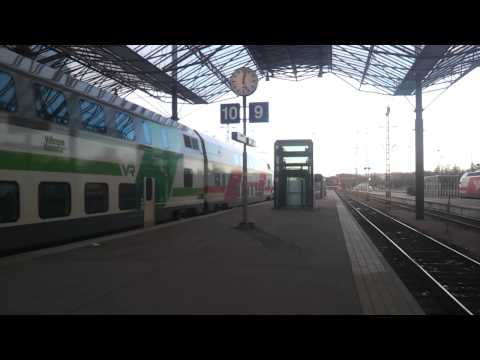 IC2 train at Helsinki railwaystation