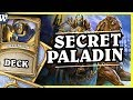 SECRET PALADIN - Hearthstone Deck Wild (KotFT)