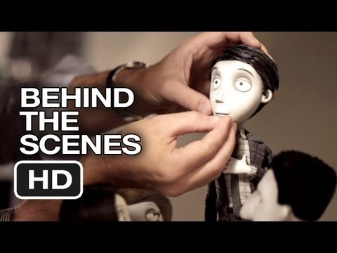 Frankenweenie Behind The Scenes - Helping Puppets Act (2012) - Tim Burton Movie HD