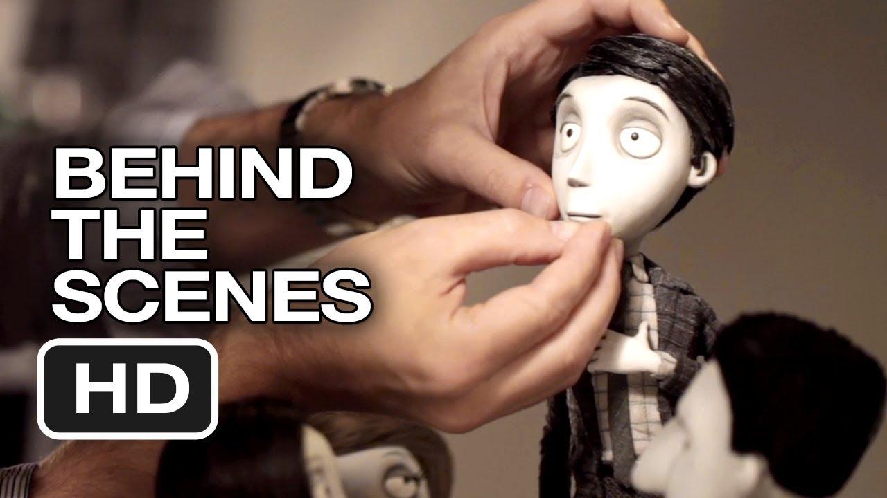 Frankenweenie Behind The Scenes Helping Puppets Act 2012 Tim Burton Movie Hd Youtube