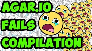 Agar.io - Fails Compilation (Unfunny Moments)