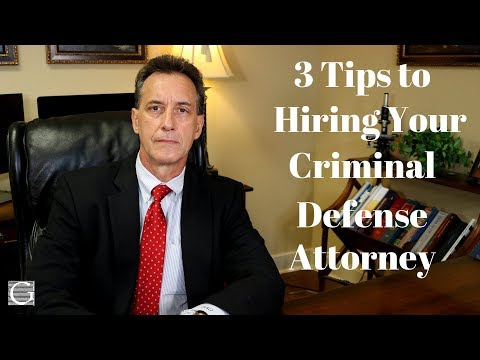 How To Choose a Criminal Defense Attorney - 3 Factors to Consider